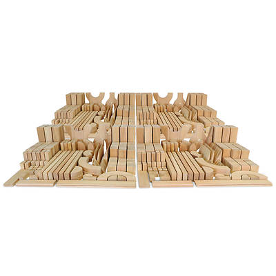 Picture of Whitney Brothers WB0370 Hardwood Full School Block Set