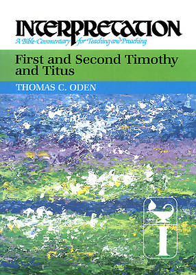 Picture of Interpretation Bible Commentary - First and Second Timothy and Titus
