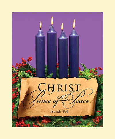 Advent Purple Sunday 4 Bulletin 2011, Large (Package of 50)