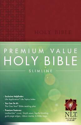 Premium Value Slimline Bible New Living Translation