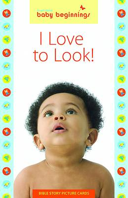 GL Baby Beginnings -  I Love to Look! Bible Story Picture Cards Spring 2017