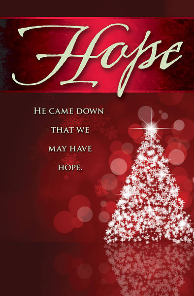 Hope Tree Advent Bulletin (Pkg of 50)