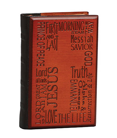 Names of Jesus Mini Wood Journal