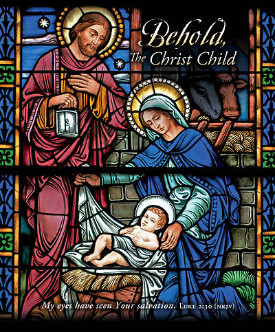Picture of Behold the Christ Child Christmas Legal Size Bulletin