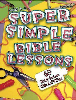 Picture of Super Simple Bible Lessons (Ages 3-5)