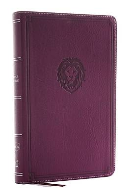 Picture of Nkjv, Thinline Bible Youth Edition, Leathersoft, Burgundy, Red Letter Edition, Comfort Print