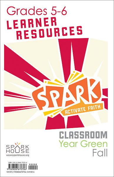 Spark Classroom Grades 5-6 Learner Leaflet Fall Year Green