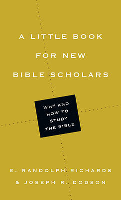 Picture of A Little Book for New Bible Scholars