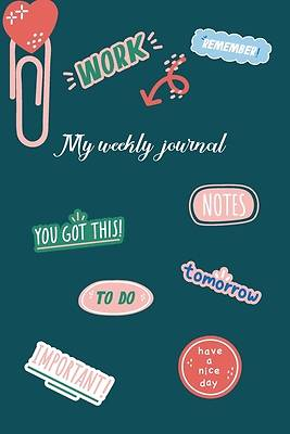 Picture of My weekly journal