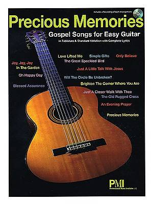 Precious Memories; Gospel Songs for Easy Guitar With CD (Audio)