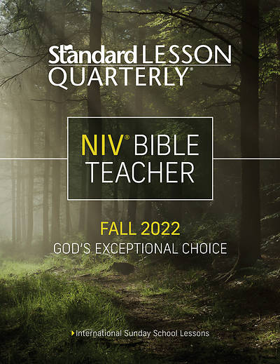 Standard Lesson Quarterly Adult NIV Teacher Book Fall