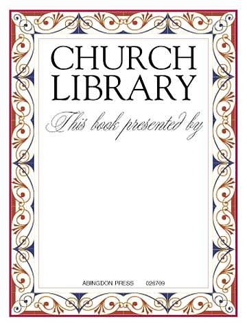 Church Library Presented By Bookplate (Package of 15)