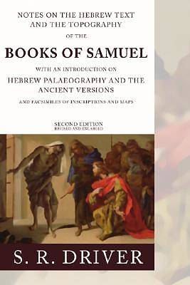 Notes on the Hebrew Text of Samuel
