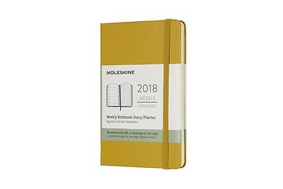 Moleskine 12 Month Weekly Planner, Pocket, Maple Yellow, Hard Cover (3.5 X 5.5)