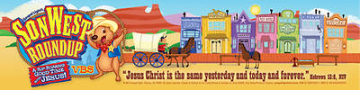 Gospel Light Vacation Bible School 2013 SonWest RoundUp Bookmark NIV (pkg 50)
