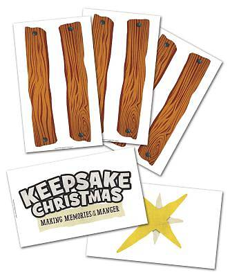 Keepsake Christmas: Build-a-Stable Giant Poster Set of 5