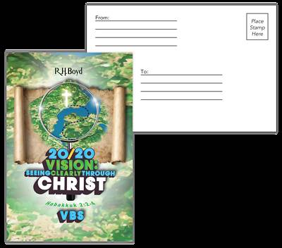 Picture of Vacation Bible School (VBS) 2020 20/20 Vision: Postcards Pkg Of 50