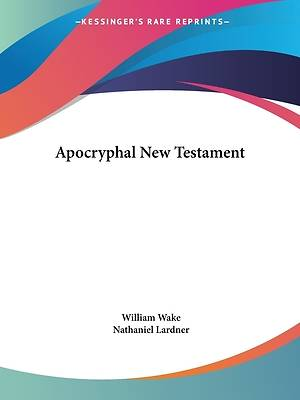 Picture of Apocryphal New Testament