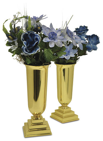 Traditional Vases with Liners - Pair