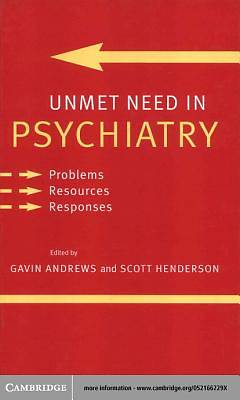 Unmet Need in Psychiatry [Adobe Ebook]
