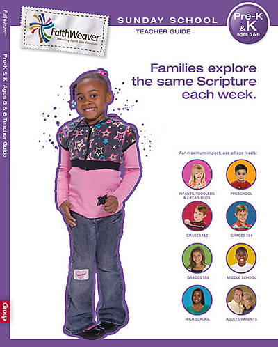 Picture of FaithWeaver Pre-K & K Teacher Guide: Spring 2012