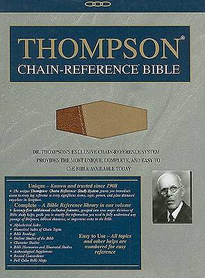 Bible-NIV Thompson-Chain Reference