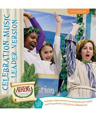 Vacation Bible School (VBS19) Athens Celebration Music Leader Version 2-CD Set