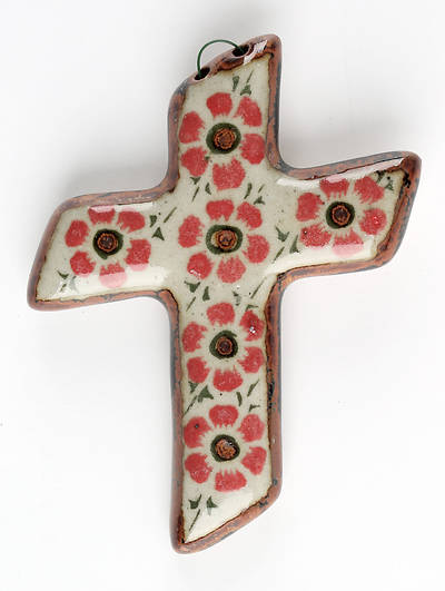 Picture of Handcrafted Ceramic Cross - CR71