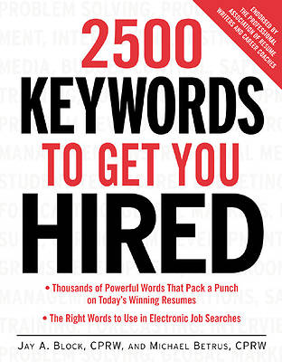 2500 Keywords to Get You Hired [Adobe Ebook]