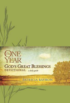 The One Year Gods Great Blessings Devotional