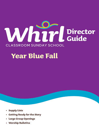Picture of Whirl Classroom Directors Guide Year Blue Fall