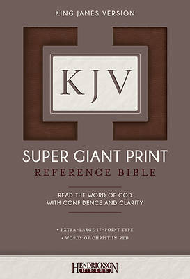 Picture of KJV Super Giant Print Bible