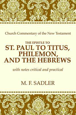 Picture of The Epistle of St. Paul to Titus, Philemon and the Hebrews