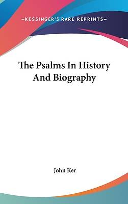 Picture of The Psalms in History and Biography