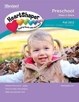 Standards HeartShaper PreSchool Student (Make-N-Share): Fall 2012