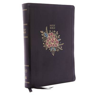 Picture of KJV, Deluxe Reference Bible, Super Giant Print, Imitation Leather, Black, Indexed, Red Letter Edition