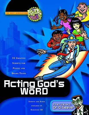 Acting Gods Word Book