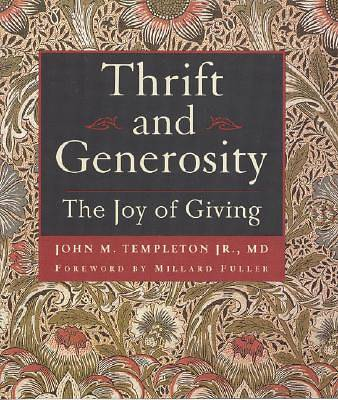 Thrift and Generosity