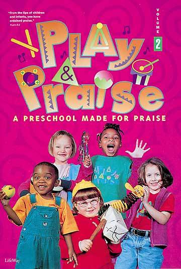 Play and Praise Volume 2 Childs Activity Book