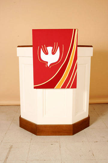 Abbott Hall Ascension Series N6549A Pentecost Pulpit Scarf