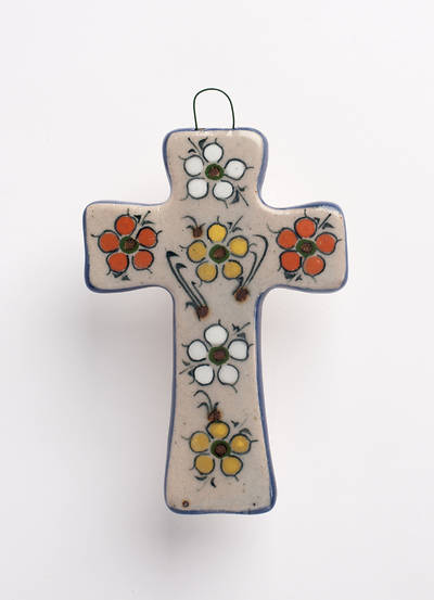 Picture of Handcrafted Ceramic Cross