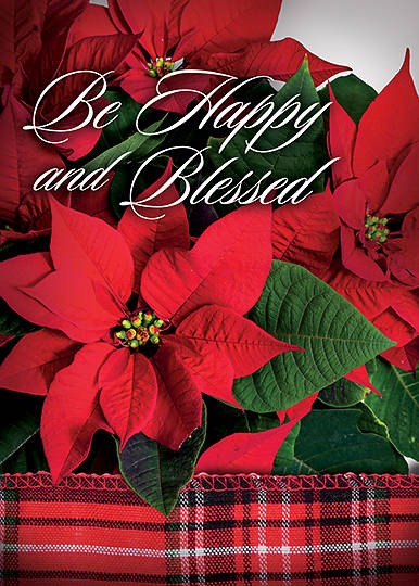 Picture of Poinsettias Boxed Cards - Box of 12