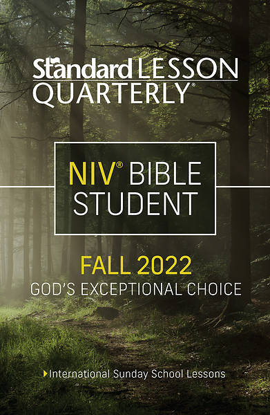 Picture of Standard Lesson Quarterly NIV Student Book Fall