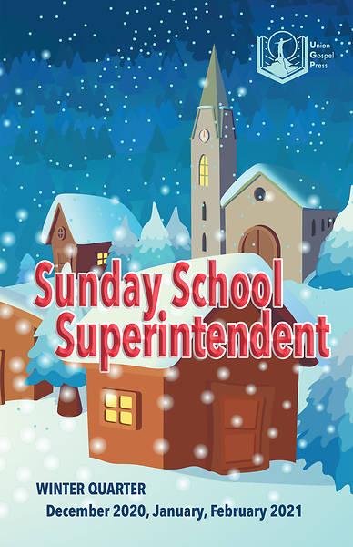 Picture of Union Gospel Superintendent Winter 2020-2021