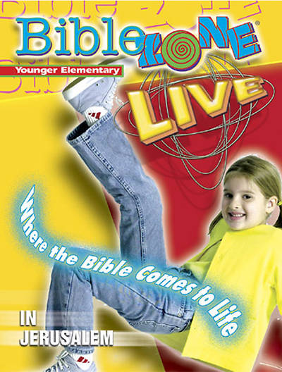 BibleZone Live! Younger Elementary Teacher Book In Jerusalem