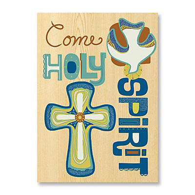 Come, Holy Spirit Confirmation Card (Pkg 6)