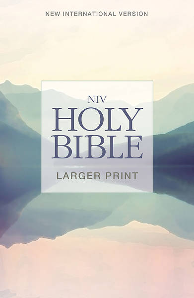 NIV, Holy Bible, Larger Print, Paperback (Special) (Case of 24)