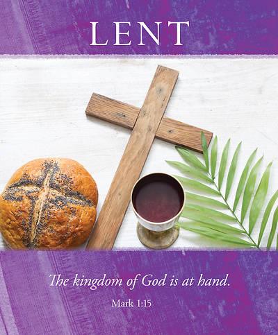 Picture of Kingdom of God Lent Legal Size Bulletin