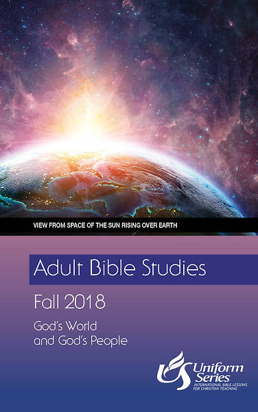 Adult Bible Studies Fall 2018 Student