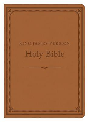 The KJV Compact Gift & Award Bible Reference Edition [Camel]